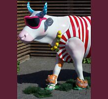 Painted Cow on Holiday - at Floriade Unisex T-Shirt