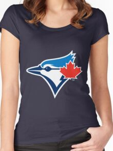 TORONTO BLUE JAYS Women's Fitted Scoop T-Shirt