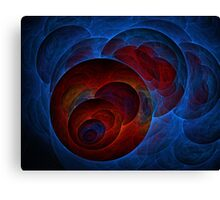 Kryptic Elements Canvas Print