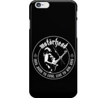Motorhead (Born to lose) iPhone Case/Skin