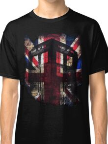 Dr. Who - Union Jack Classic T-Shirt