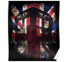 Dr. Who - Union Jack Poster