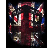 Dr. Who - Union Jack Photographic Print