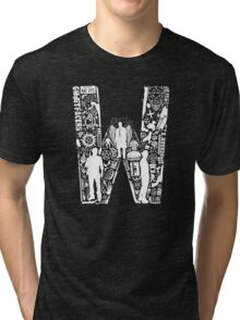 W Is For Winchester Tri-blend T-Shirt