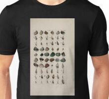 Index testaceologicus an illustrated catalogue of British and foreign shells 016 Unisex T-Shirt