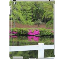Beauty By The White Fence iPad Case/Skin