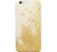 Earth Sweat Design (Spicy Mustard Color) iPhone Case/Skin