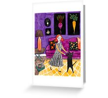 The Little Dance Party Greeting Card