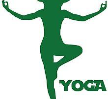 Yoga Yoda by Elon Svärdhagen