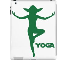 Yoga Yoda iPad Case/Skin