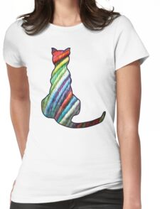 Yarn Cat Womens Fitted T-Shirt