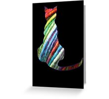 Yarn Cat Greeting Card