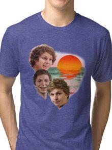 3 Cera Sunset Tri-blend T-Shirt