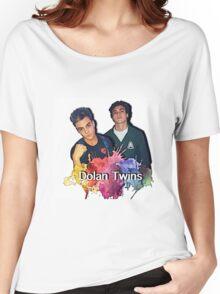 Dolan Twins cartoon paint splat Women's Relaxed Fit T-Shirt