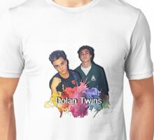 Dolan Twins cartoon paint splat Unisex T-Shirt