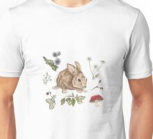 Woodlant Rabbit  Unisex T-Shirt
