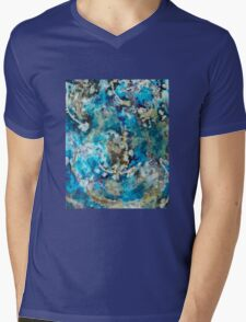 Abstract coral reef Mens V-Neck T-Shirt