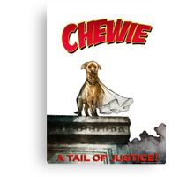 Chewie the Dog Canvas Print