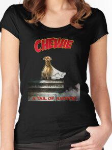 Chewie the Dog Women's Fitted Scoop T-Shirt