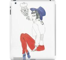 Smoking Girl iPad Case/Skin