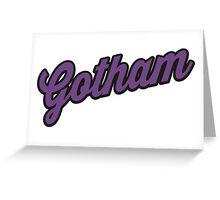 Gotham Greeting Card