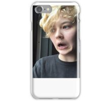 literally my face iPhone Case/Skin