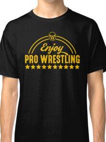 Enjoy Pro Wrestling - Yellow Classic T-Shirt