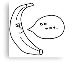 do not. Canvas Print