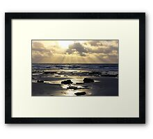 Beach Rays Framed Print