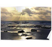 Beach Rays Poster