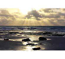 Beach Rays Photographic Print