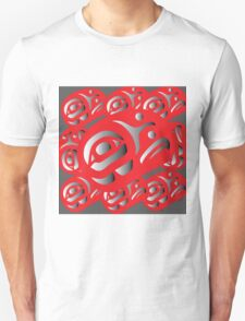 Red Ovoids Eagle Family T-Shirt