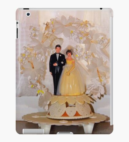 Vintage Wedding  iPad Case/Skin