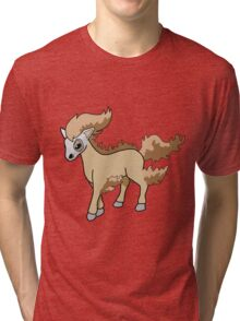 Pokemon Fusion (Cubone x Ponyta) Tri-blend T-Shirt
