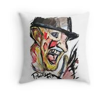 Pandora Fox Art Acid Freddy Krueger  Throw Pillow