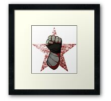 Fists Up Framed Print