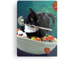 cereal cat Metal Print