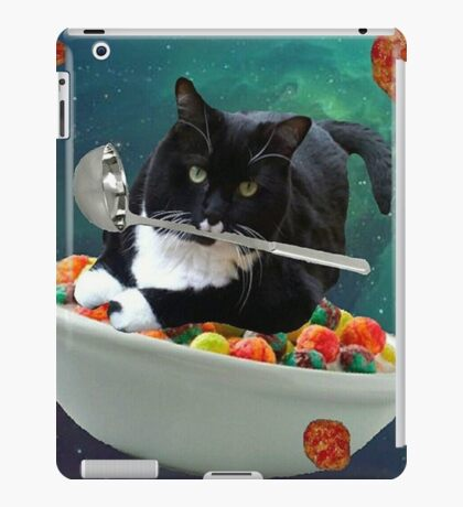 cereal cat iPad Case/Skin