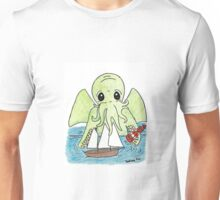 Pandora Fox Art Original Design Adorable Baby Cthulu :3  Unisex T-Shirt