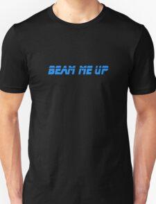 Beam Me Up - T-Shirt Sticker T-Shirt