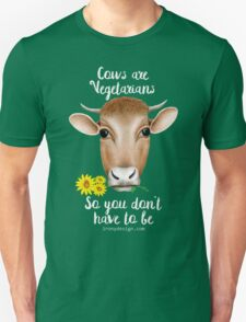 Cows are Vegetarians Funny Saying T-Shirt
