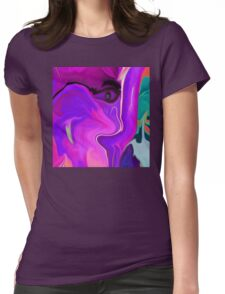 Abstract 51- wall art + Clothing+Products Design Womens Fitted T-Shirt