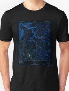 USGS TOPO Map Alabama AL Albertville 303087 1950 24000 Inverted T-Shirt