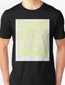 USGS TOPO Map Alabama AL Chatom 303454 1974 24000 T-Shirt
