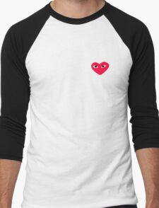 Commes Des Garcons Men's Baseball ¾ T-Shirt