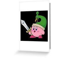 Minish Cap Kirby Greeting Card