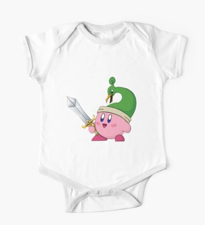 Minish Cap Kirby One Piece - Short Sleeve