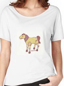 Pandora Fox Art Giddyup Buttercup Fallout 4 Version :D Women's Relaxed Fit T-Shirt