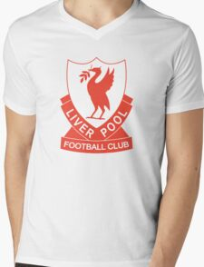 LIVERPOOL OLD LOGO crest badge vintage retro Mens V-Neck T-Shirt