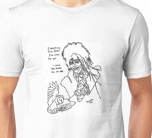 Pandora Fox Art David Bowie as Jareth the Goblin King Tribute Unisex T-Shirt
